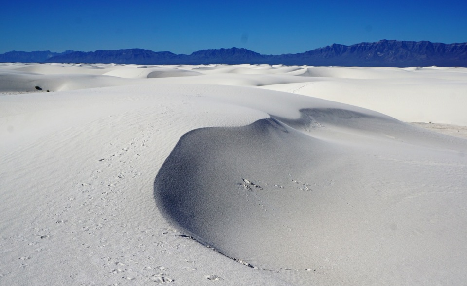 5 - White Sands drift