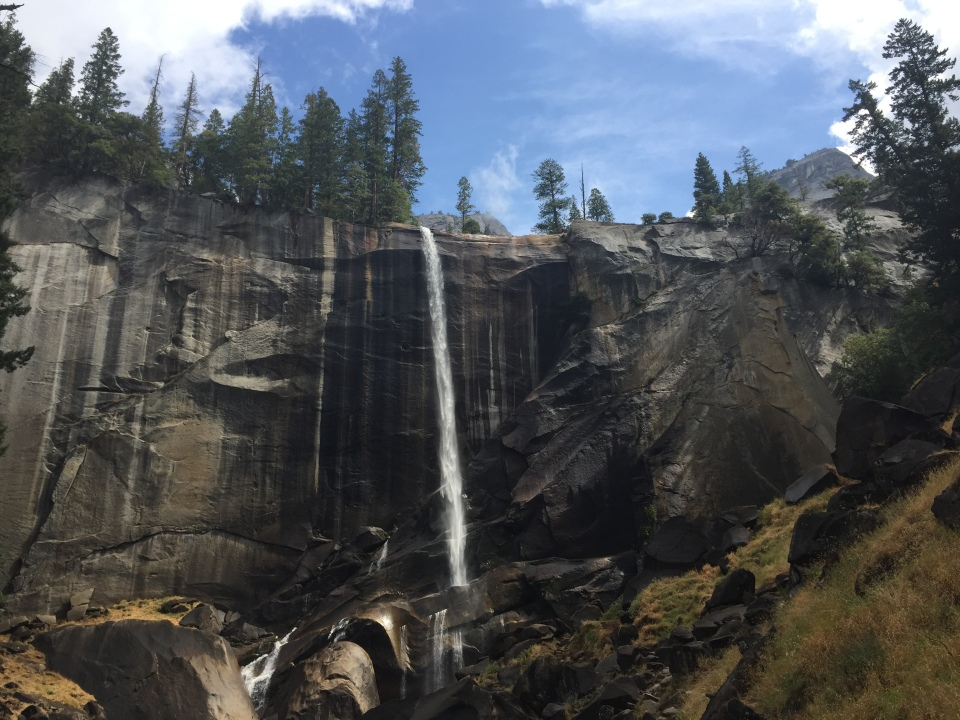 Yosemite - Vernal Falls - Mist Trail